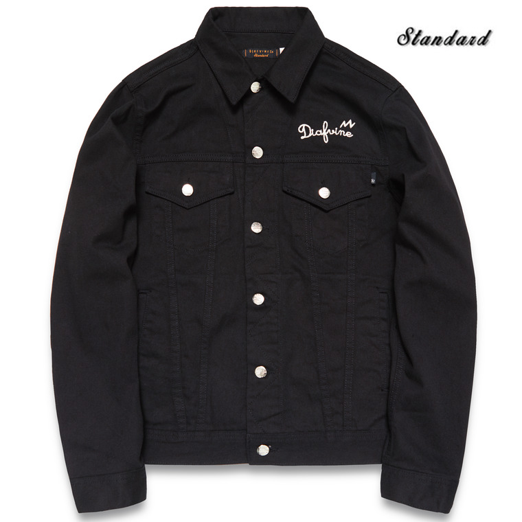 [SALE 35%]DV. LOT510 DENIM TRUCKER JKT TYPE.3 -BLACK-