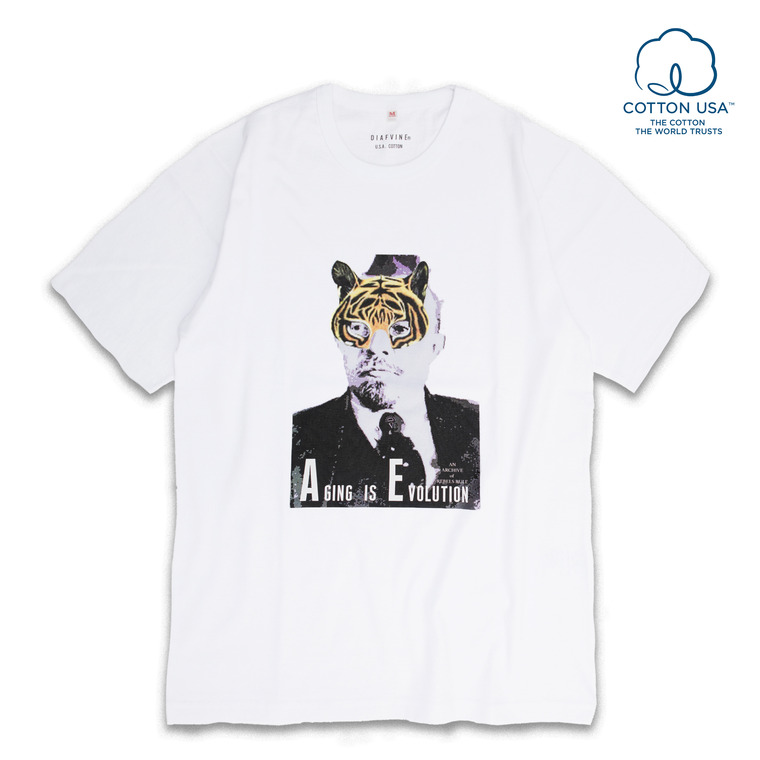 [SALE 40%]DV.LOT.515 T.M GRAPHIC TEE -WHITE-