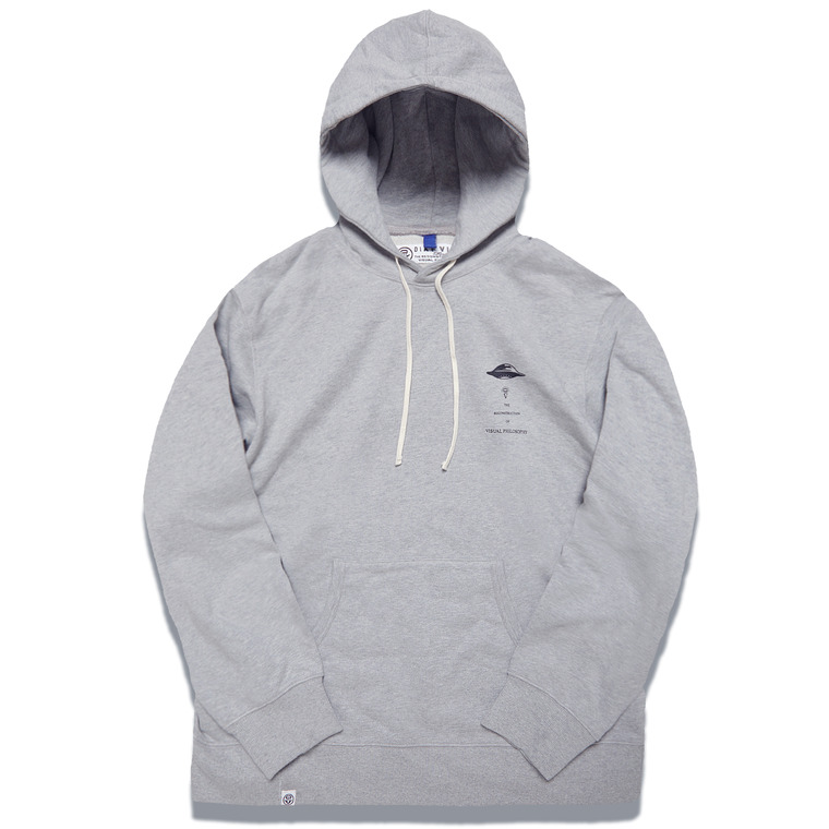 DV. LOT547 HEAVY WEIGHT SWEAT HOODIE -GRAY-