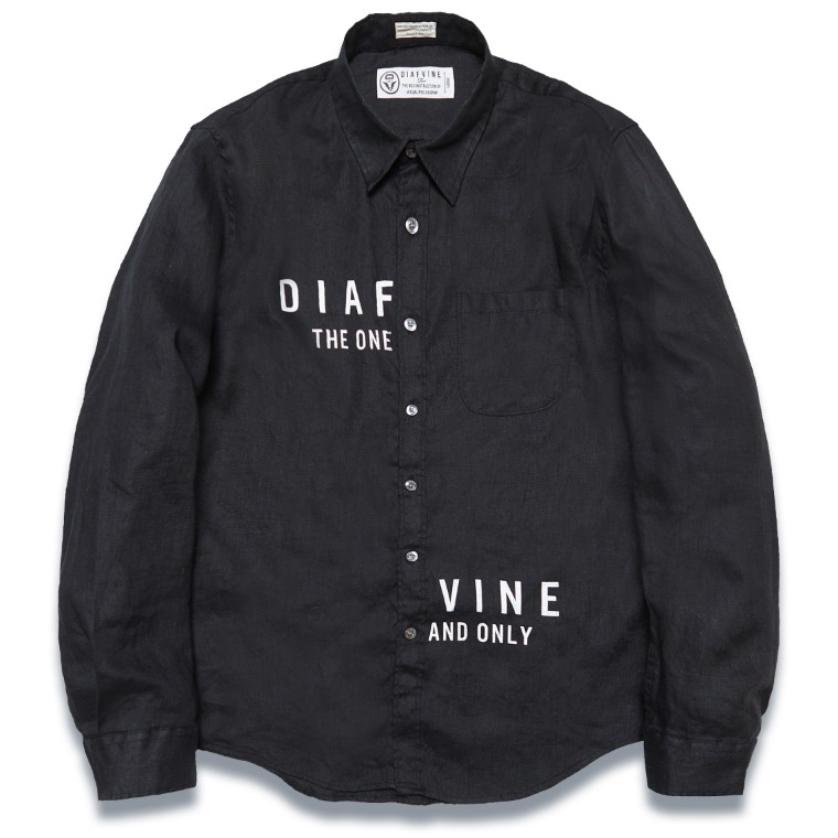 DV. LOT571 LINEN SHIRTS -BLACK-