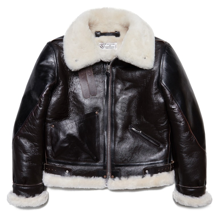 MOUTON Leather Jacket