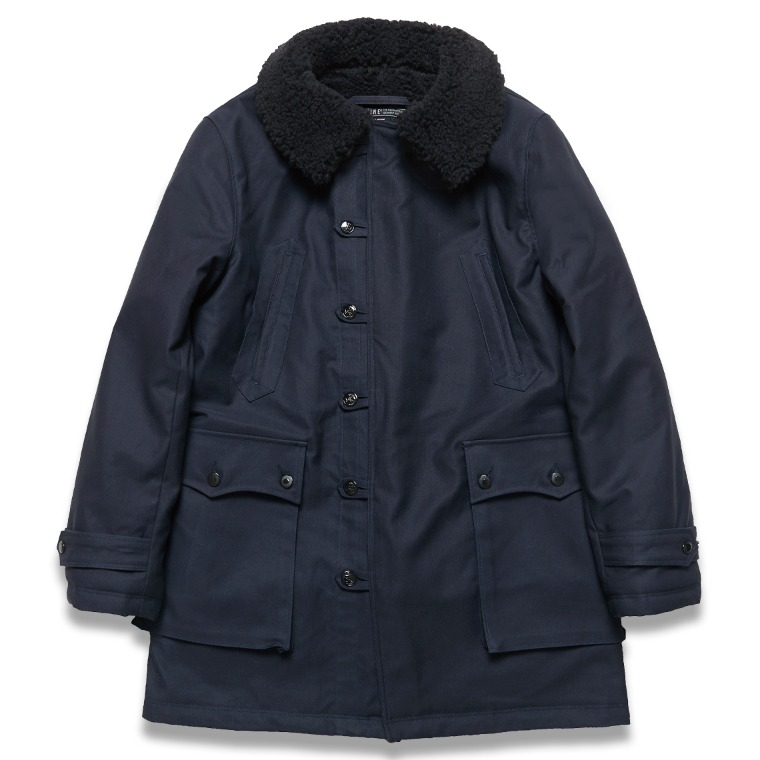 "DV. LOT600 ""LENON"" TYPE M1909 FIELD PARKA -NAVY-"