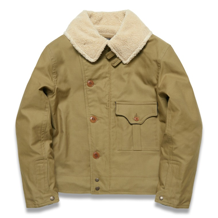 "DV. LOT599 ""MARC"" TYPE B-2 JACKET -OLIVE-"