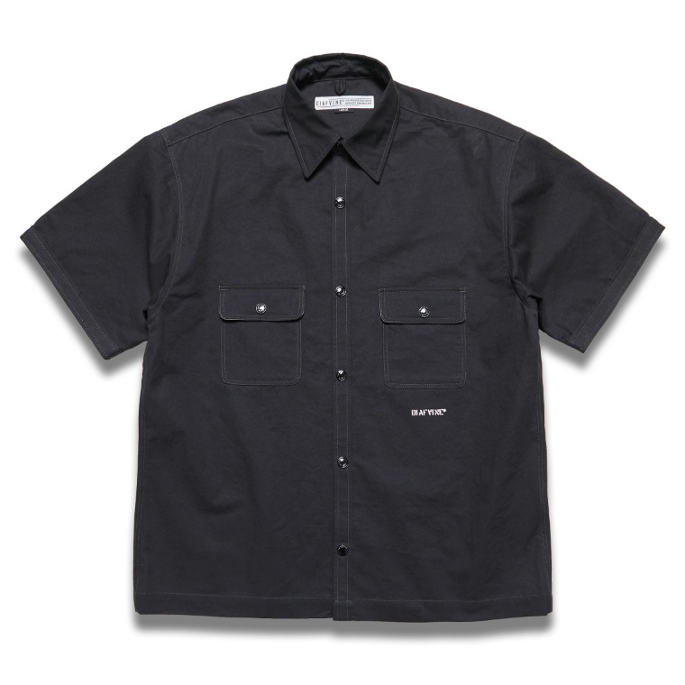 DV.LOT 633 Cotton Shirts -BLACK-