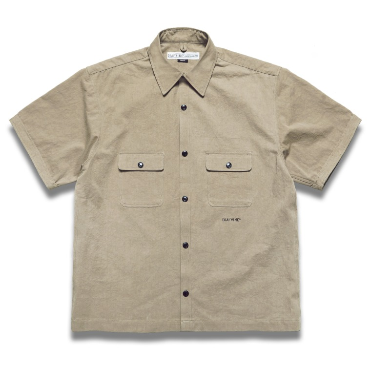 DV.LOT 633 Cotton Shirts -BEIGE-
